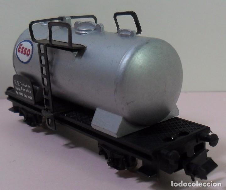 Trenes Escala: LIMA N - Vagón cisterna ESSO - Foto 6 - 78458849
