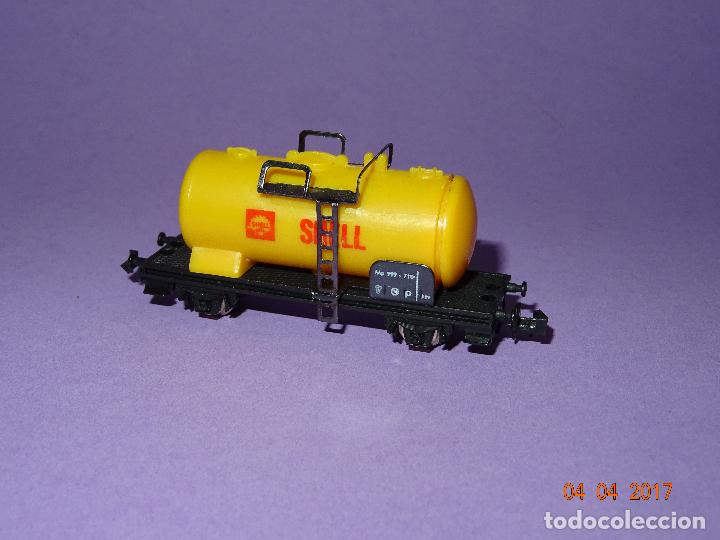 Trenes Escala: Antiguo Vagón Cisterna SHELL en Escala *N* de LIMA - Foto 2 - 82512672