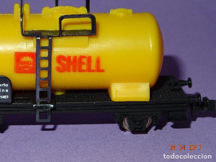 Trenes Escala: Antiguo Vagón Cisterna SHELL en Escala *N* de LIMA - Foto 3 - 82512672