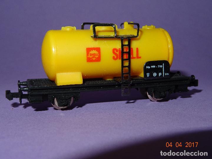 Trenes Escala: Antiguo Vagón Cisterna SHELL en Escala *N* de LIMA - Foto 5 - 82512672