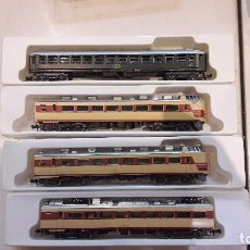 Trenes Escala: 4 COCHES PASAJEROS N LIMA . Lote 82921756