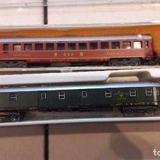 Trenes Escala: 2 COCHES N LIMA 332 Y 323. Lote 82985056