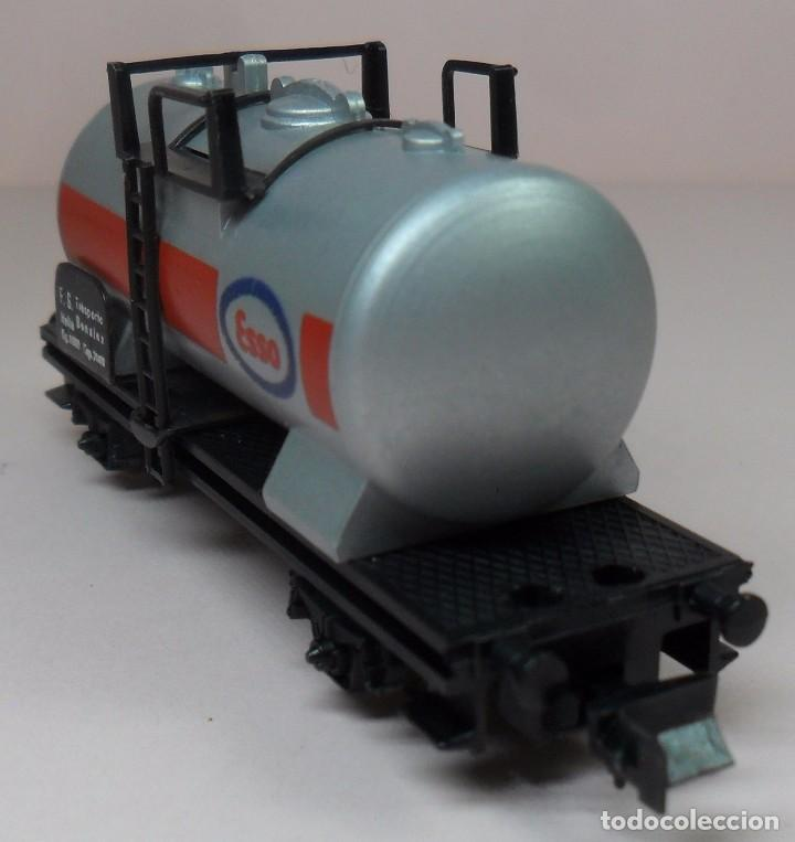 Trenes Escala: LIMA N - Vagón cisterna ESSO - Foto 2 - 85290532