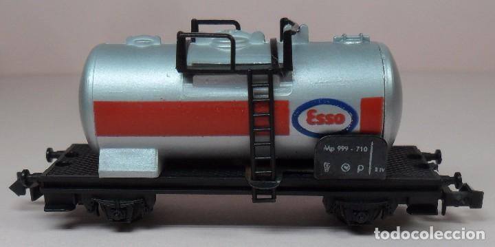Trenes Escala: LIMA N - Vagón cisterna ESSO - Foto 4 - 85290532