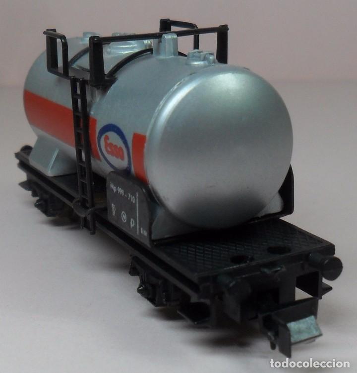 Trenes Escala: LIMA N - Vagón cisterna ESSO - Foto 5 - 85290532
