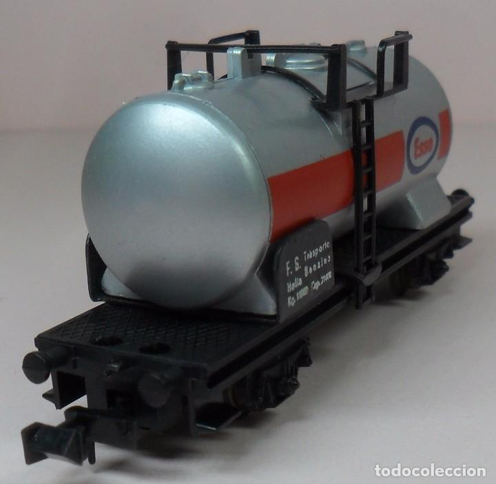 Trenes Escala: LIMA N - Vagón cisterna ESSO - Foto 6 - 85290532