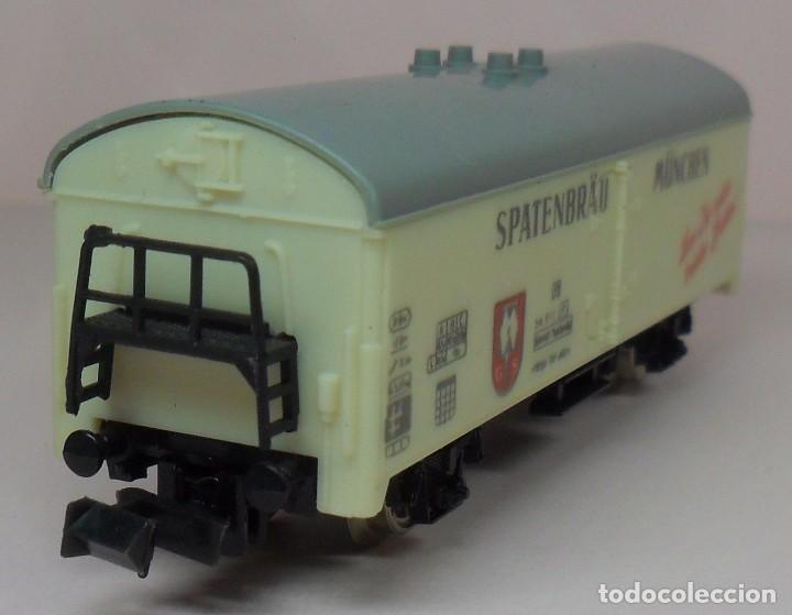 Trenes Escala: LIMA N - Vagón refrigerado cerveza SPATENBRÄU - Foto 2 - 85291508