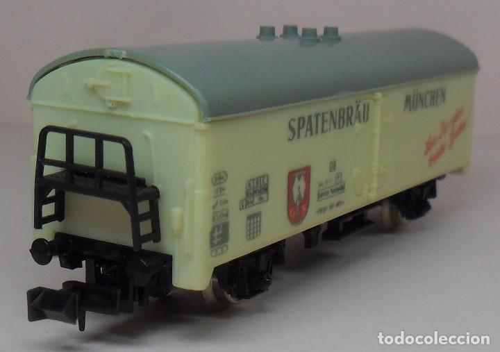 Trenes Escala: LIMA N - Vagón refrigerado cerveza SPATENBRÄU - Foto 5 - 85291508