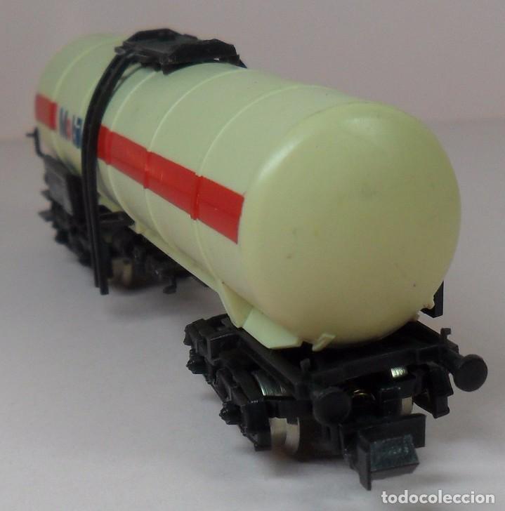 Trenes Escala: LIMA N - Vagón largo cisterna MOBILOIL - Foto 6 - 85292940