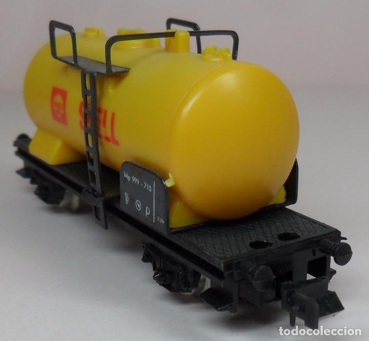 Trenes Escala: LIMA N - Vagón cisterna SHELL - Foto 3 - 85300516