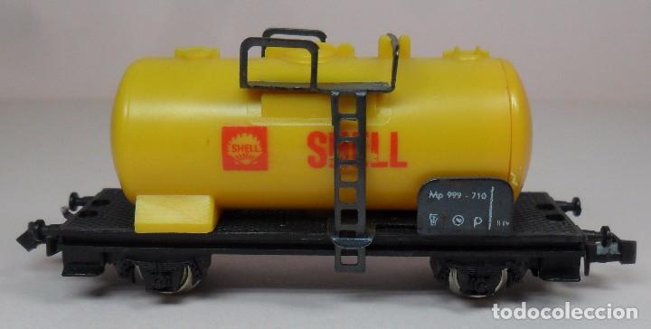 Trenes Escala: LIMA N - Vagón cisterna SHELL - Foto 4 - 85300516