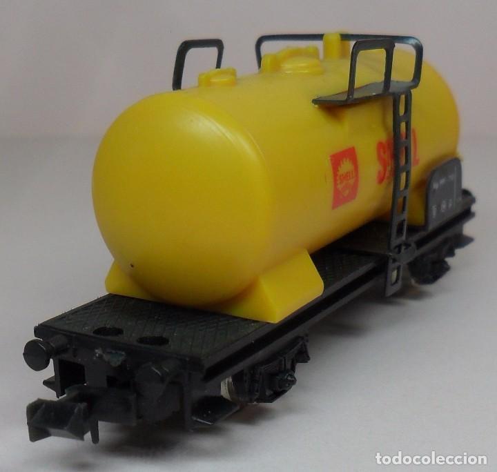 Trenes Escala: LIMA N - Vagón cisterna SHELL - Foto 5 - 85300516