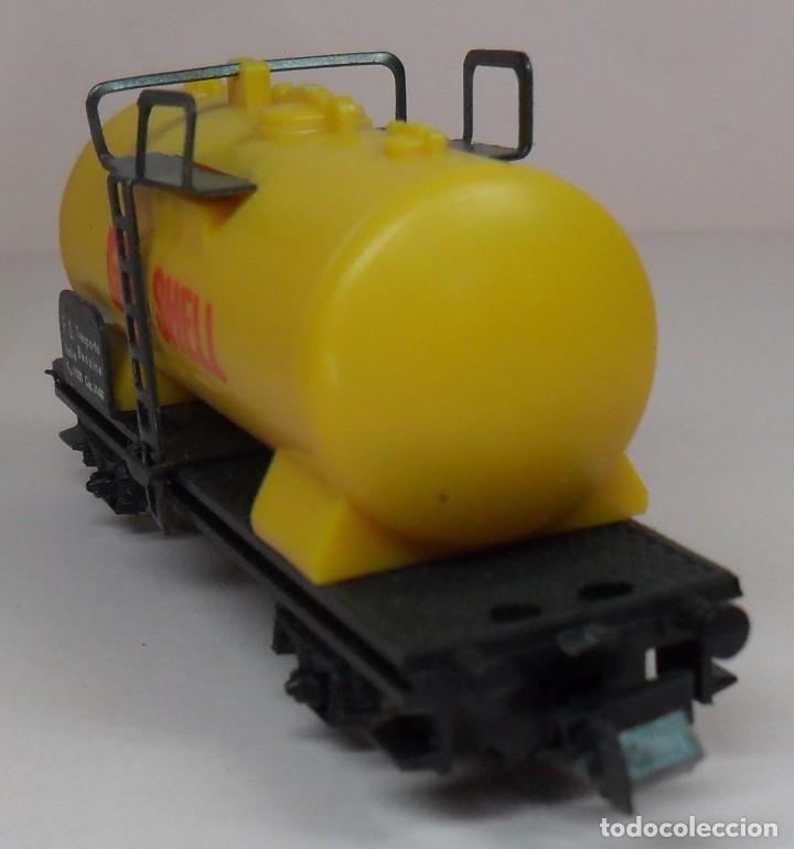 Trenes Escala: LIMA N - Vagón cisterna SHELL - Foto 6 - 85300516