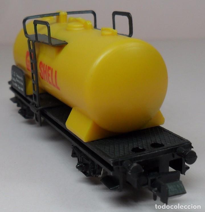 Trenes Escala: LIMA N - Vagón cisterna SHELL - Foto 2 - 85300844