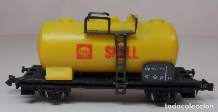 Trenes Escala: LIMA N - Vagón cisterna SHELL - Foto 4 - 85300844