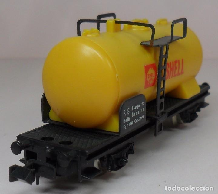 Trenes Escala: LIMA N - Vagón cisterna SHELL - Foto 6 - 85300844