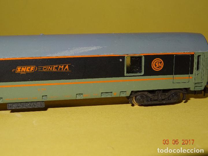 Trenes Escala: Antiguo Coche CINEMA de la SNCF Escala *N* de LIMA - Foto 3 - 85563172