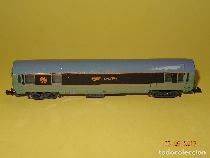 Trenes Escala: Antiguo Coche CINEMA de la SNCF Escala *N* de LIMA - Foto 6 - 85563172