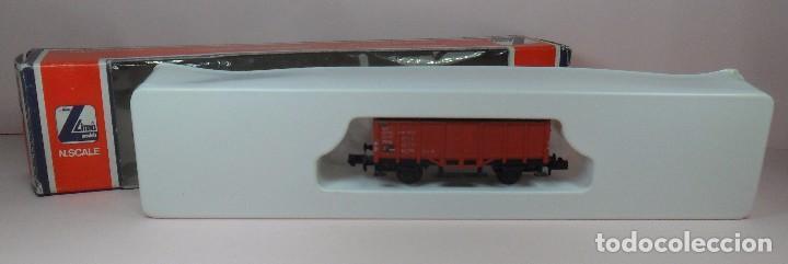 LIMA N - 0632 - VAGÓN ABIERTO DE BORDE ALTO - CON CAJA ORIGINAL (Juguetes - Trenes a Escala N - Lima N)