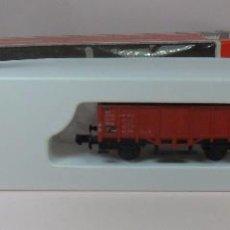 Trenes Escala: LIMA N - 0632 - VAGÓN ABIERTO DE BORDE ALTO - CON CAJA ORIGINAL. Lote 89606128