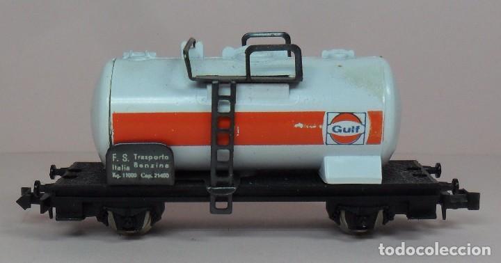 Trenes Escala: LIMA N - Vagón cisterna GULF - Con caja original - Foto 2 - 89622900