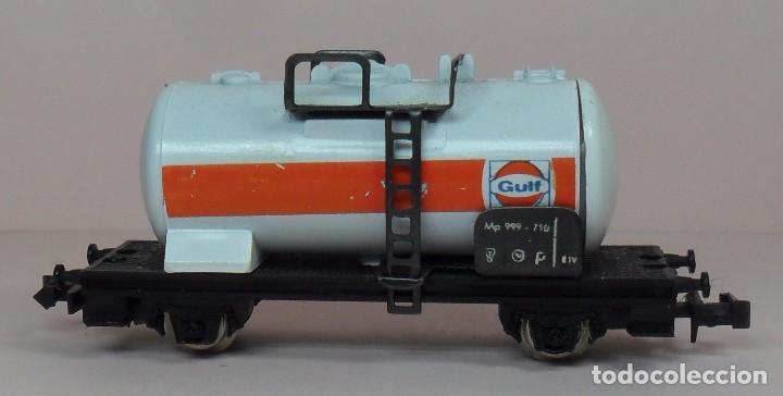 Trenes Escala: LIMA N - Vagón cisterna GULF - Con caja original - Foto 5 - 89622900