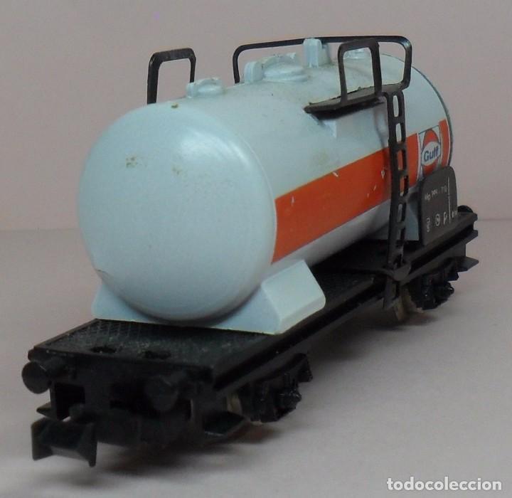 Trenes Escala: LIMA N - Vagón cisterna GULF - Con caja original - Foto 6 - 89622900