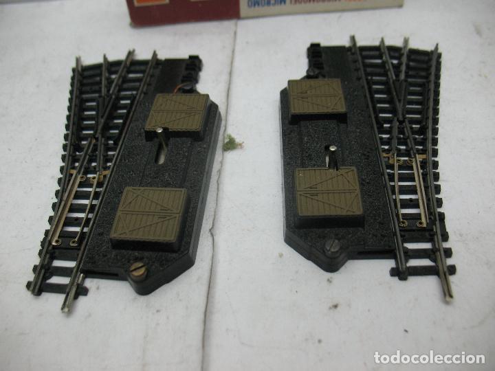 Trenes Escala: Lima Ref: 532 - Pareja de desvíos derecha e izquierda accesorios para maqueta - Escala N - Foto 2 - 93532360