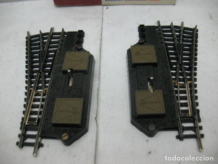 Trenes Escala: Lima Ref: 532 - Pareja de desvíos derecha e izquierda accesorios para maqueta - Escala N - Foto 3 - 93532360