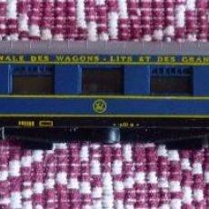 Trenes Escala: LIMA. VAGÓN SALÓN REF. 304. ESCALA N. MADE IN ITALY. PERFECTO. Lote 101396371