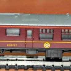 Trenes Escala: COCHE BRITISH RAILWAYS BUFFET DE LIMA, ESCALA N. Lote 104190043