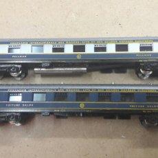 Trenes Escala: PAR COCHES N LIMA 303 Y 304 COMPAÑIA INTERNACIONAL WAGONLITS SALON Y PULMANN GRATIS ENVIO. Lote 113471574