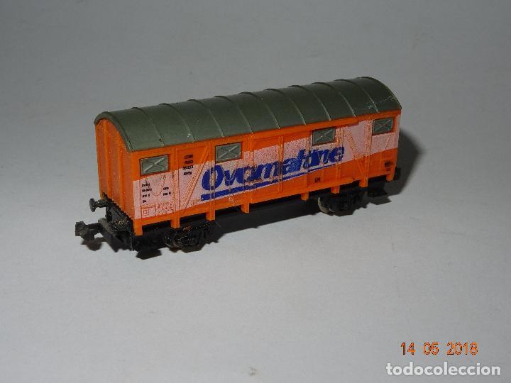 Trenes Escala: Antiguo Vagón Cerrado OVALTINE en Escala *N* de LIMA - Foto 2 - 121081727