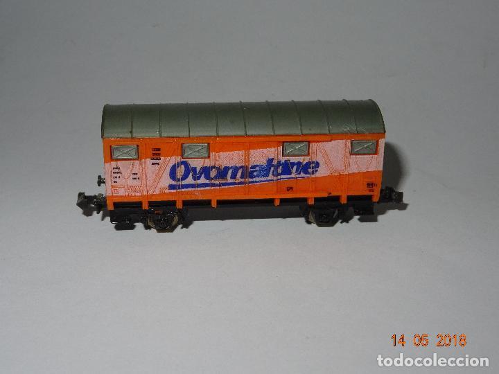 Trenes Escala: Antiguo Vagón Cerrado OVALTINE en Escala *N* de LIMA - Foto 3 - 121081727