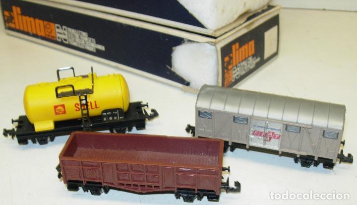 Trenes Escala: Lote 3 vagones LIMA N, SHELL, FIAT... - Foto 2 - 124131307