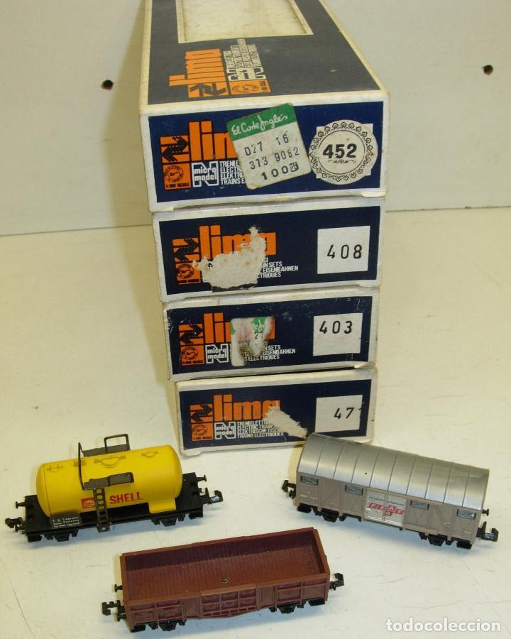 Trenes Escala: Lote 3 vagones LIMA N, SHELL, FIAT... - Foto 3 - 124131307