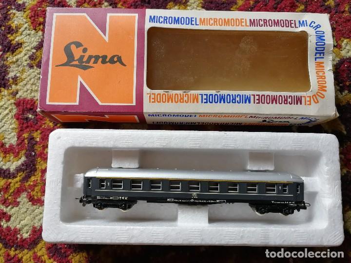 Trenes Escala: VAGON LIMA, MICROMODEL, ESCALA N. 301- EN CAJA ORIGINAL, (MADE IN ITALY). - Foto 2 - 128366339