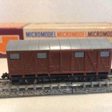 Trenes Escala: LIMA - VAGON MERCANCIAS CERRADO ESCALA N. Lote 135914350