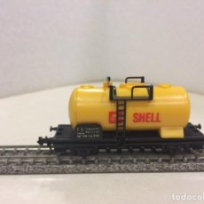 Trenes Escala: LIMA - VAGON CISTERNA SHELL ESCALA N. Lote 136040582