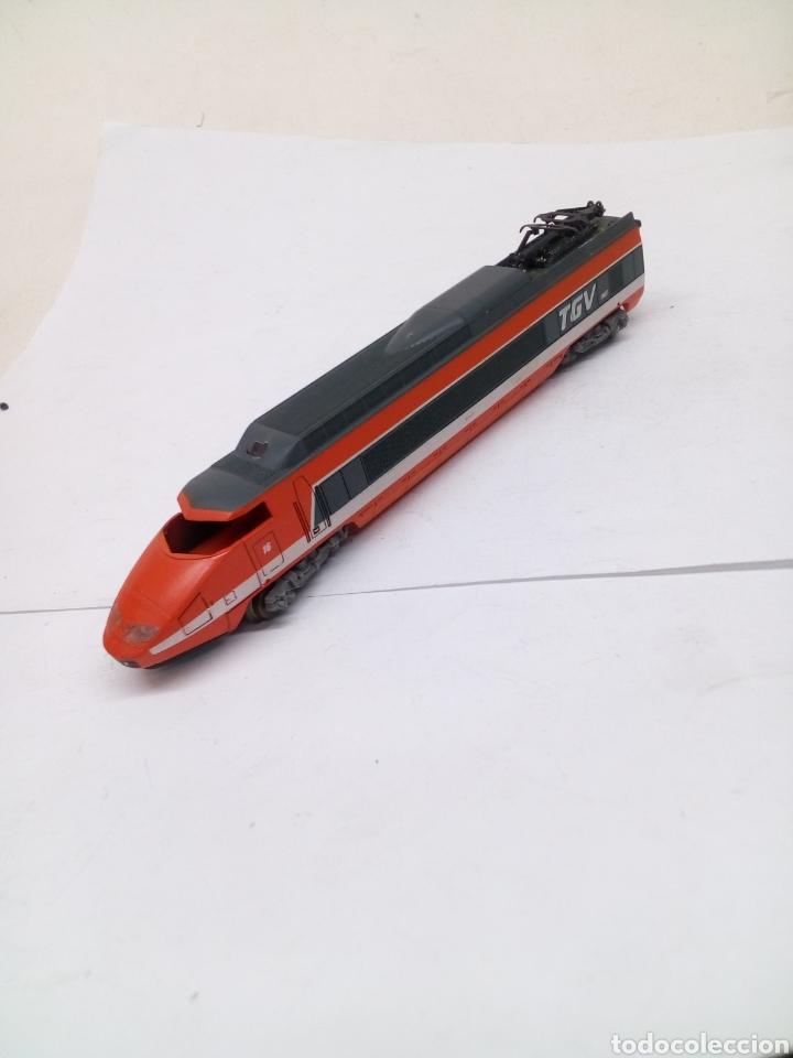 BAGON LOCOMOTORA LIMA TGV ESCALA N (Juguetes - Trenes a Escala N - Lima N)