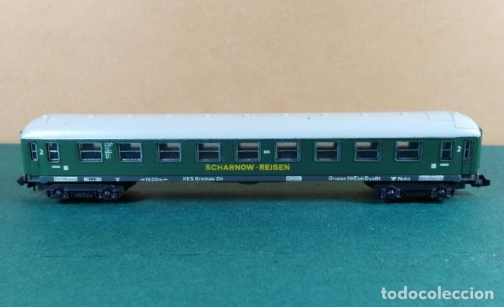 Trenes Escala: N - LIMA - VAGON DE PASAJEROS DE 2ª CLASE - Foto 3 - 144938690