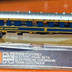 Trenes Escala: COCHE RESTAURANTE DE LA COMPAÑÍA INTERNACIONAL DE WAGONS-LITS DE LIMA, ESCALA N COMPATIBLE IBERTREN.. Lote 145765802