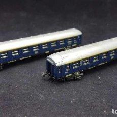 Trenes Escala: FS 1ª CLASE 860 2 VAGONES PASAJEROS, ESCALA N. Lote 153073250