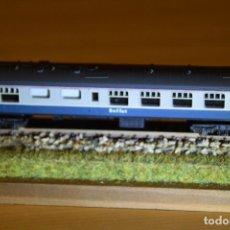 Trenes Escala: CONVOY DE 8 VAGONES DE PASAJEROS, ESCALA N, LINEA EUSTON-LIVERPOOL,MARCA TRIX,LIMA Y OTROS. Lote 154546918