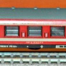 Trenes Escala: COCHE DE VIAJEROS 4 EJES 1ª CLASE TIPO CAPITOLE DE LIMA. ESCALA N, COMPATIBLE IBERTREN.. Lote 170023788