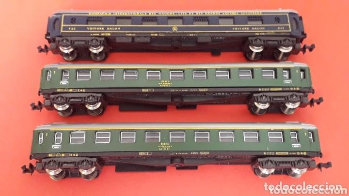 Trenes Escala: 2 x coche viajeros 1ª clase 8000 Renfe + Voiture Salon, Lima Italy, esc. N, original años 80. - Foto 3 - 172589543