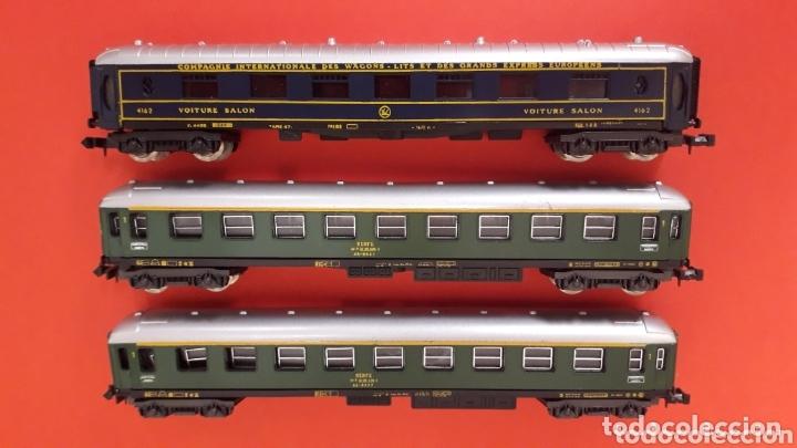 Trenes Escala: 2 x coche viajeros 1ª clase 8000 Renfe + Voiture Salon, Lima Italy, esc. N, original años 80. - Foto 4 - 172589543