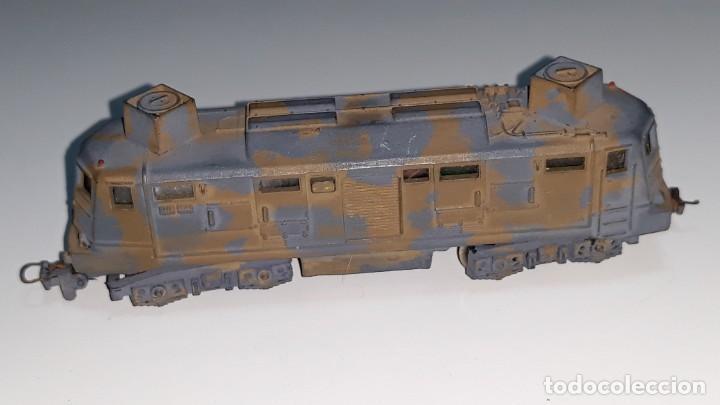 Trenes Escala: LIMA : ANTIGUA LOCOMOTORA MILITAR E 424 143 ESCALA N AÑOS 70 MADE IN ITALY - Foto 7 - 185735143
