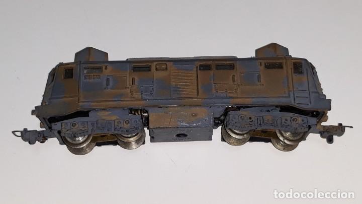 Trenes Escala: LIMA : ANTIGUA LOCOMOTORA MILITAR E 424 143 ESCALA N AÑOS 70 MADE IN ITALY - Foto 10 - 185735143