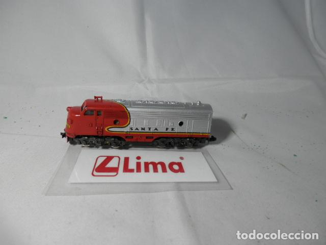 LOCOMOTORA DIESEL AMERICANA ESCALA N DE LIMA (Juguetes - Trenes a Escala N - Lima N)